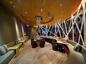 160平米现代风格精致咖啡厅装修效果图赏析