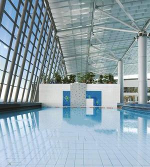 现代风格大型游泳馆装修效果图赏析