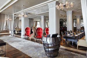 欧式风格精致奢华西餐厅装修效果图赏析