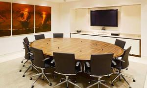 简约风格小型会议室装修效果图案例