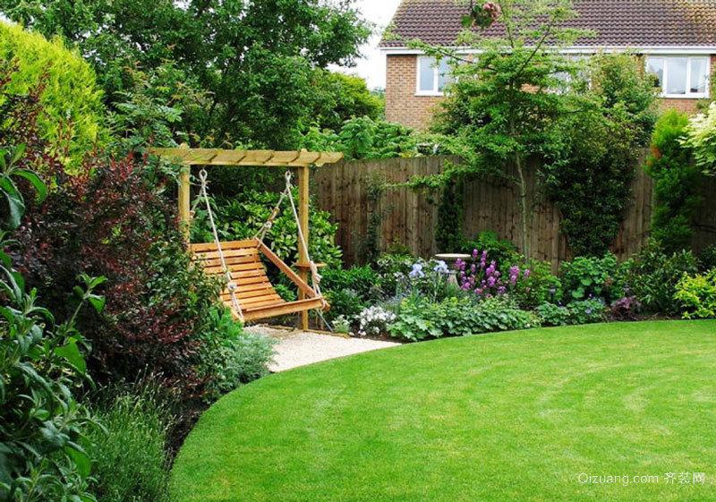 欧式风格精致别墅花园设计装修效果图赏析