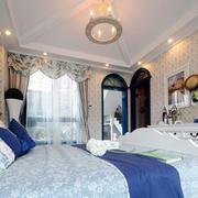 地中海风格别墅室内精致卧室装修效果图欣赏