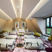 美式风格休闲阁楼设计装修效果图赏析