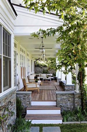 欧式风格精致别墅休闲封闭式阳台装修效果图