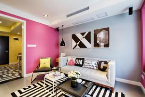 现代风格时尚小户型客厅装修效果图赏析