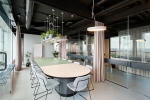 现代简约风格会议室吊顶设计装修效果图赏析