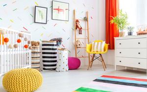 北欧风格活力舒适儿童房装修效果图