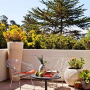 现代风格精致别墅室内阳台装修效果图赏析