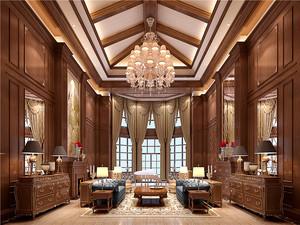 180平米古典欧式风格大户型室内装修实景图案例