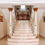 欧式风格典雅别墅楼梯装修效果图欣赏