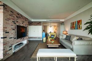 清新混搭风格精装两室两厅室内装修效果图赏析