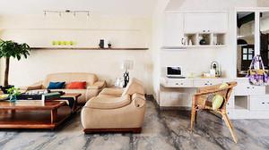 84平米小清新文艺两室两厅室内装修效果图鉴赏