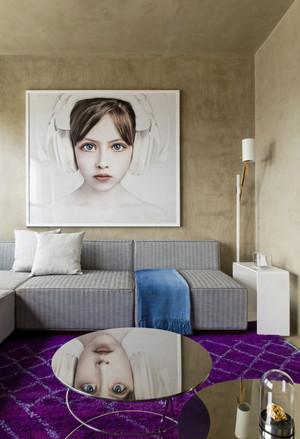 80平米现代风格精致创意室内装修效果图赏析