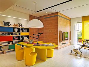 75平米现代风格时尚创意两室一厅装修效果图案例
