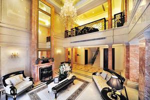 400平米新古典主义风格奢华别墅室内装修效果图赏析