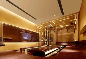 现代风格精致KTV包房设计装修效果图