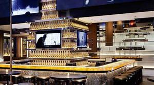 后现代风格精致酒吧酒柜设计装修图