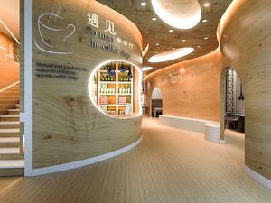 简约风格时尚文艺咖啡厅装修效果图赏析