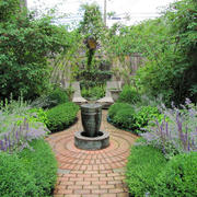 现代风格别墅花园设计装修效果图