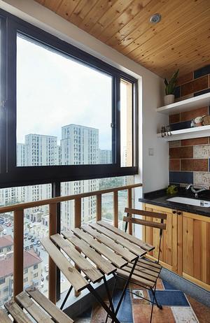 96平米后现代风格精致两室两厅室内装修效果图赏析
