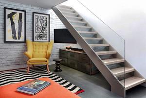 后现代风格时尚创意小复式楼装修效果图实例