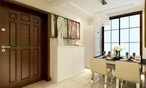 90平米简欧风格精装室内装修效果图赏析