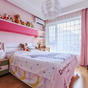 简欧风格粉色梦幻儿童房装修效果图赏析