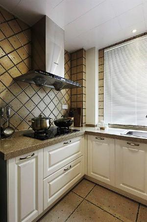 78平米简约美式风格精致一居室装修效果图
