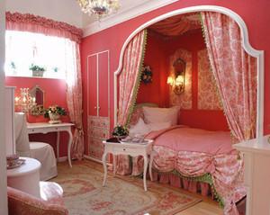 欧式风格精美公主房儿童房装修效果图