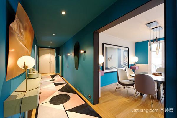 现代风格时尚靓丽两居室室内装修效果图赏析