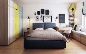 现代简约风格卧室飘窗设计装修效果图赏析