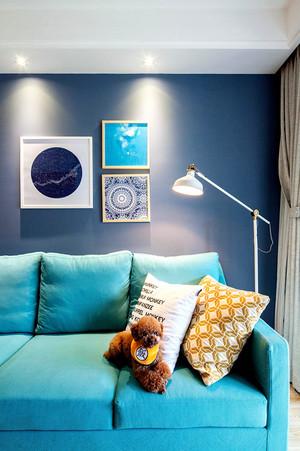 宜家风格文艺时尚两室一厅室内装修效果图案例