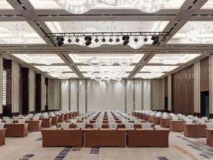 200平米中式风格精致酒店宴会厅装修效果图