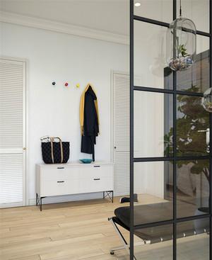 68平米北欧风格文艺气质小户型装修效果图案例