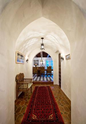 地中海风格混搭别墅过道装修效果图赏析