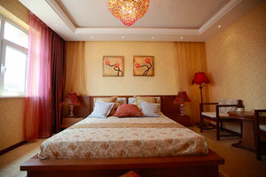 94平米东南亚风格异域风情三室两厅室内装修效果图