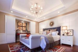 简欧风格大户型精致卧室装修效果图赏析