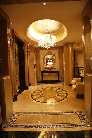 360平米欧式风格精致别墅室内装修效果图案例