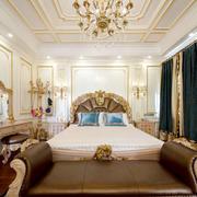 欧式风格奢华别墅室内卧室装修效果图鉴赏