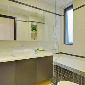 现代风格精致卫生间隔断设计装修效果图赏析