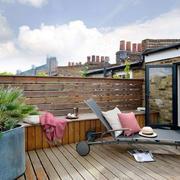 现代风格休闲阳台花园设计装修效果图欣赏