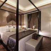 中式风格大户型精致卧室装修效果图赏析