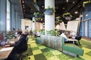 后现代风格loft办公室装修效果图