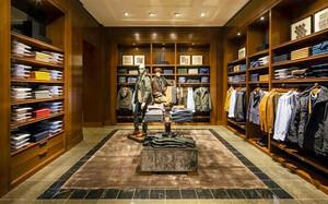 中式风格精致服装店装修效果图案例