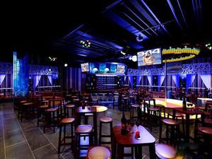 120平米现代风格音乐酒吧装修效果图赏析