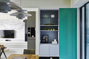 100平米后现代风格精致大户型室内装修效果图