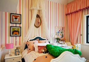 简欧风格精美时尚儿童房装修效果图