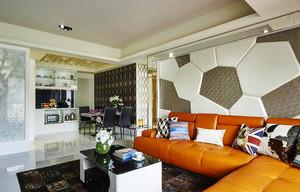92平米简欧风格精致两室两厅装修效果图