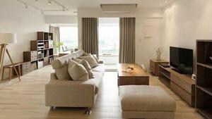 日式风格简约两室两厅室内装修效果图案例
