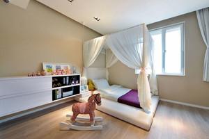 现代简约风格儿童房装修效果图赏析